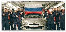 Сборка автомобилей в России