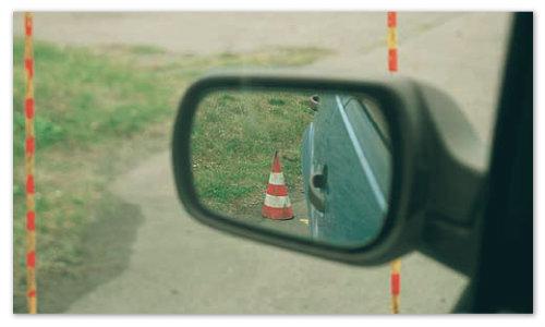 Парковка по зеркалам