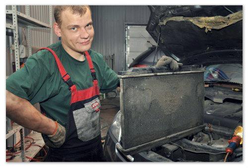 Почему необходимо проводить чистку радиатора?