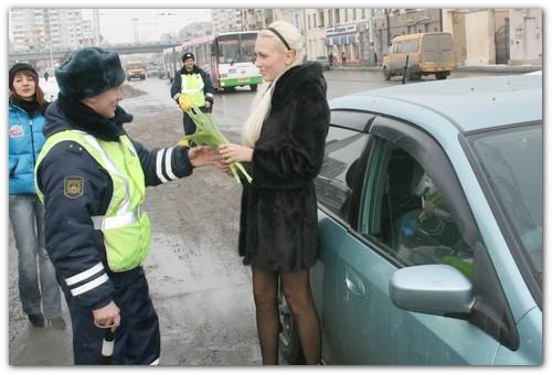 Инспектор ГИБДД.