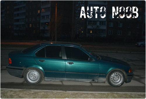 Отзыв Киры об изумрудно зелёном BMW 320.