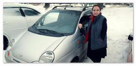 Отзыв Валентины Сазоновой про автомобиль Daewoo Matiz Best.